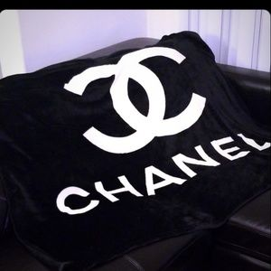 New Chanel Fleece Blanket
